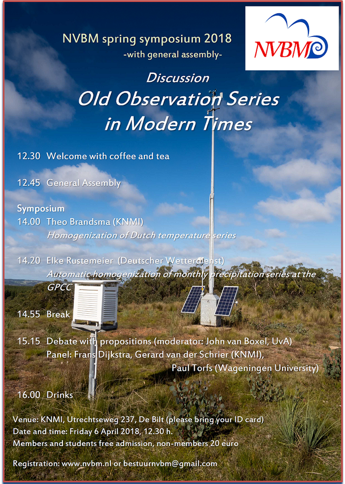 Voorjaarssymposium 6 April: Old Observations in Modern Times